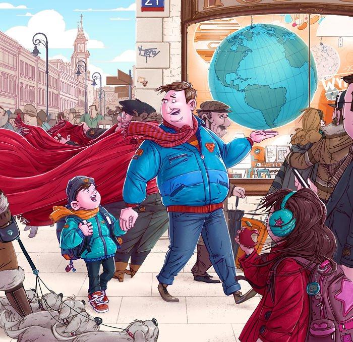 32 ilustrações deste artista que descrevem o lado sombrio da sociedade em que vivemos 17