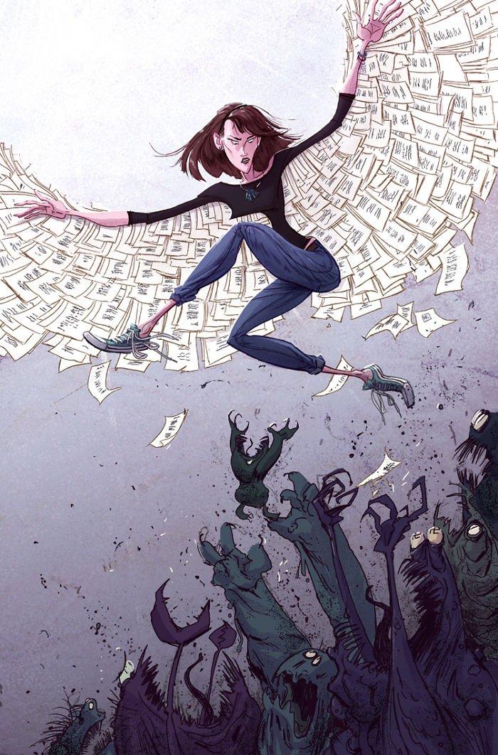 32 ilustrações deste artista que descrevem o lado sombrio da sociedade em que vivemos 21