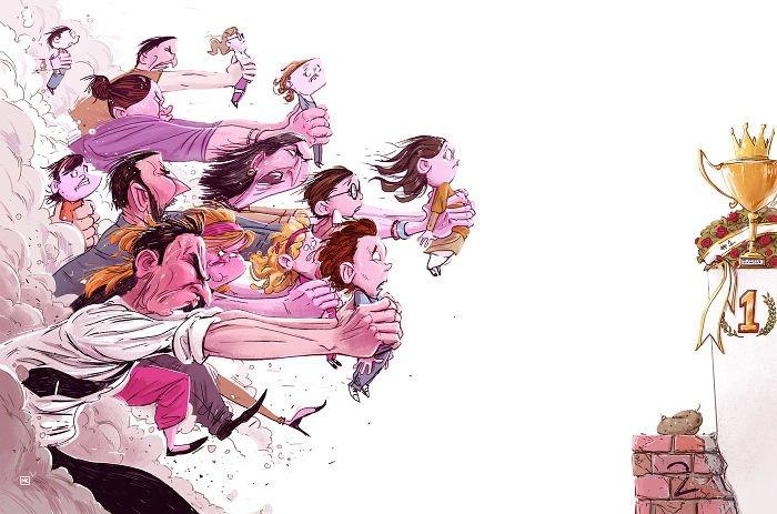 32 ilustrações deste artista que descrevem o lado sombrio da sociedade em que vivemos 33