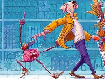 32 ilustrações deste artista que descrevem o lado sombrio da sociedade em que vivemos 4
