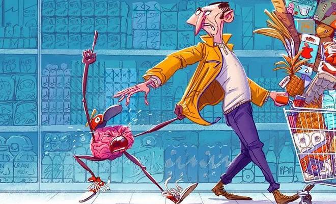32 ilustrações deste artista que descrevem o lado sombrio da sociedade em que vivemos 2