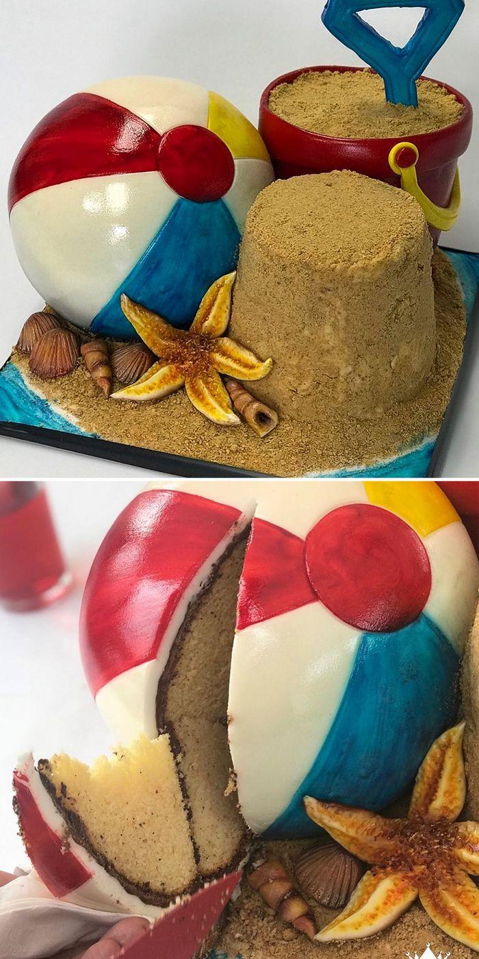 28 incríveis bolos de ilusão por BakeKing que são bons demais para comer 10