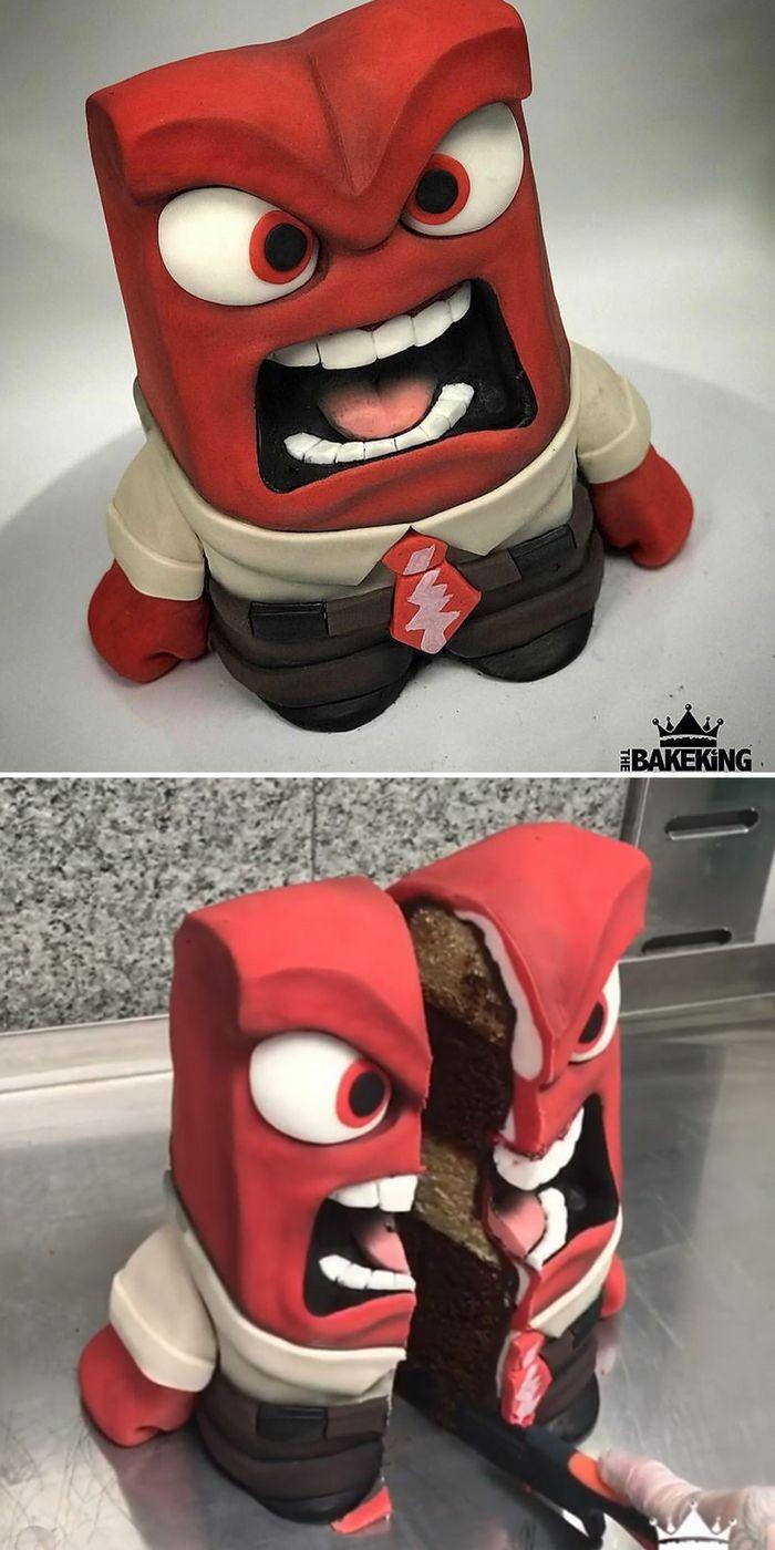 28 incríveis bolos de ilusão por BakeKing que são bons demais para comer 15