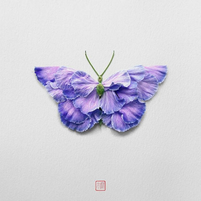 37 retratos delicados de animais criados a partir de coisas encontradas na natureza por Raku Inoue 22