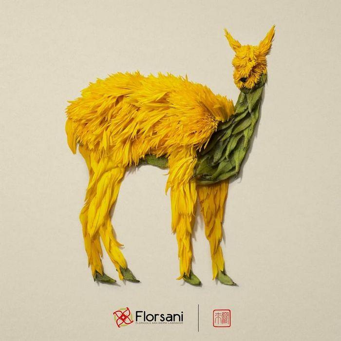 37 retratos delicados de animais criados a partir de coisas encontradas na natureza por Raku Inoue 27