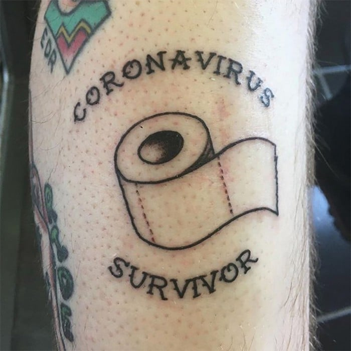 Algumas pessoas estão fazendo tatuagens inspiradas no covid-19 (21 fotos) 9