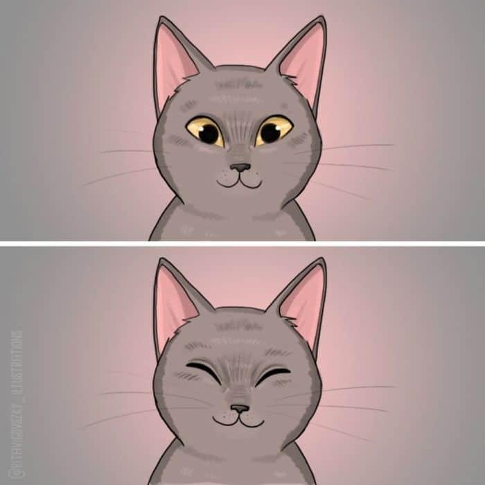 Artista ilustra a vida cotidiana com um gato nesses 31 quadrinhos 28