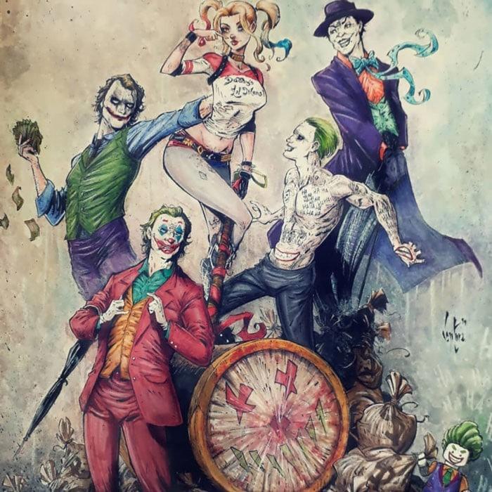 Artista reimagina personagens da cultura pop em ilustrações de estilo sombrio e sinistro (30 fotos) 15
