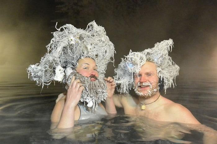 O Canadá tem uma competição anual de congelamento de cabelos e as fotos deste ano são loucas (35 fotos) 3