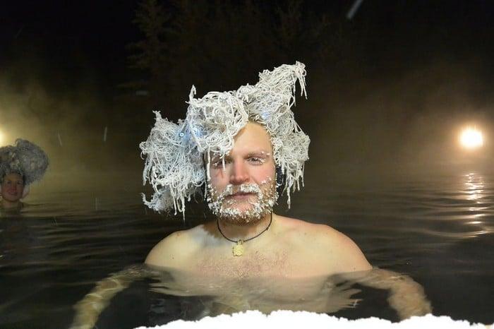 O Canadá tem uma competição anual de congelamento de cabelos e as fotos deste ano são loucas (35 fotos) 20
