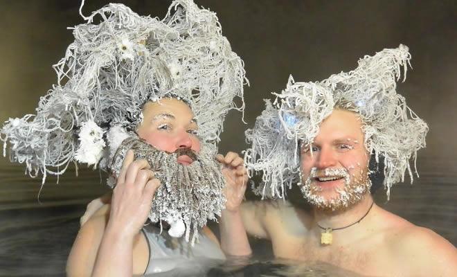 O Canadá tem uma competição anual de congelamento de cabelos e as fotos deste ano são loucas (35 fotos) 27