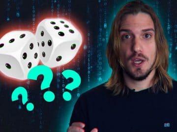 Por que computadores não podem gerar números aleatórios? 4