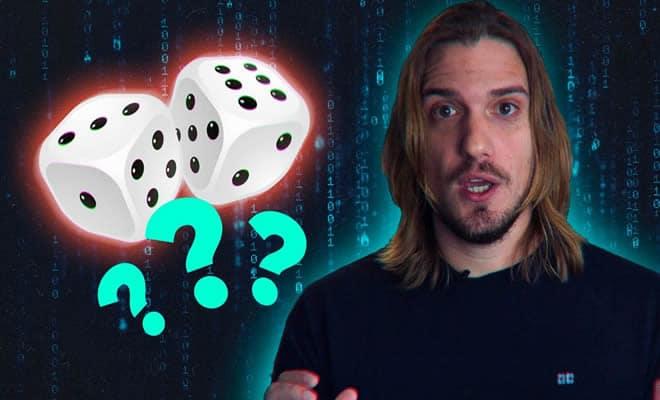 Por que computadores não podem gerar números aleatórios? 3