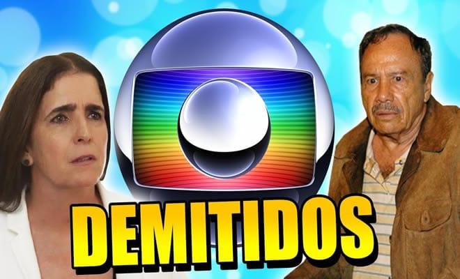 Famosos que foram demitidos da Globo 2