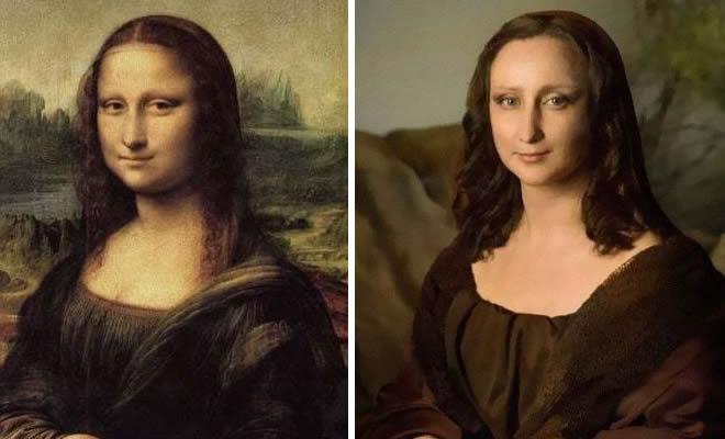 40 pessoas criativas que recriaram pinturas famosas com coisas que encontraram em casa 2