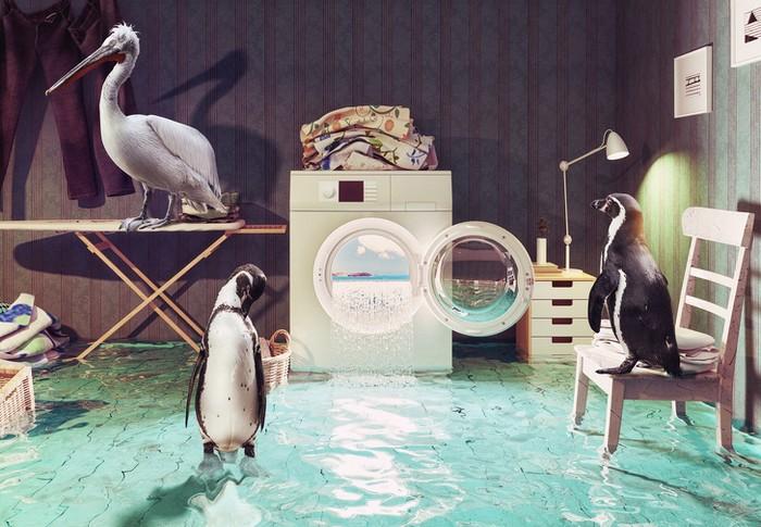 Um mundo imaginário feito por um artista digital da Rússia (19 fotos) 18