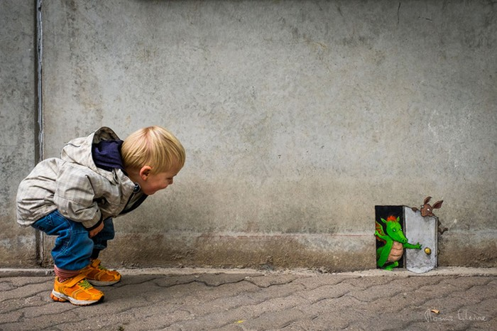 A arte do giz: A combinação perfeita feita por David Zinn (41 fotos) 6