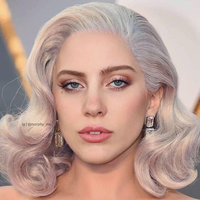 Artista cria novos rostos ao mesclar fotos de diferentes celebridades (35 fotos) 3