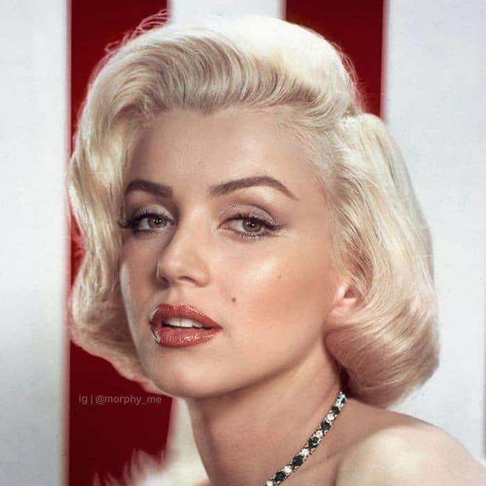 Artista cria novos rostos ao mesclar fotos de diferentes celebridades (35 fotos) 26