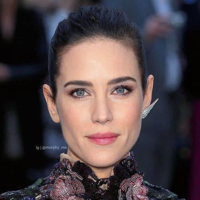 Artista cria novos rostos ao mesclar fotos de diferentes celebridades (35 fotos) 36