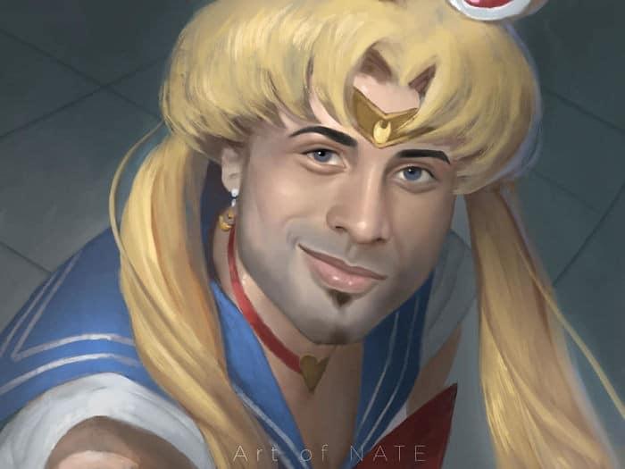 Artistas de todo o Twitter estão redesenhando Sailor Moon em seu próprio estilo (38 fotos) 3