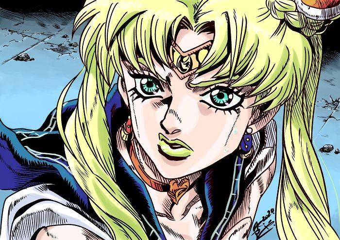 Artistas de todo o Twitter estão redesenhando Sailor Moon em seu próprio estilo (38 fotos) 11