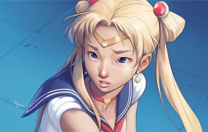 Artistas de todo o Twitter estão redesenhando Sailor Moon em seu próprio estilo (38 fotos) 18