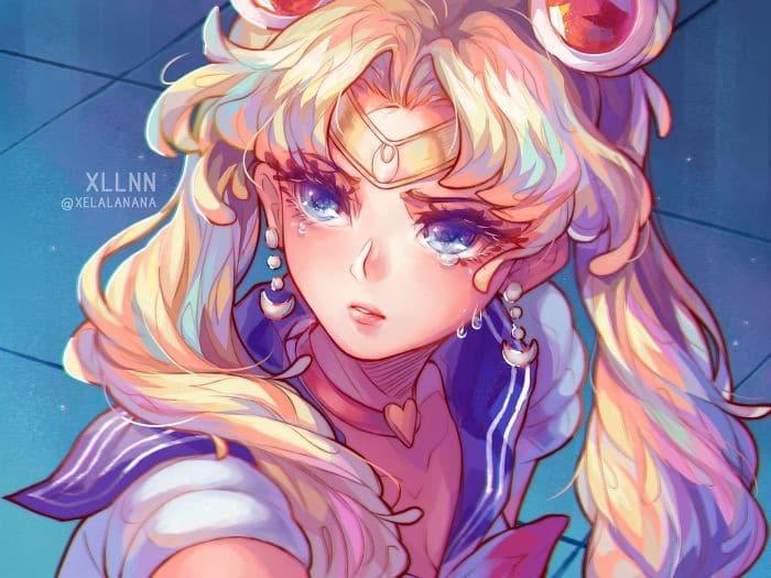 Artistas de todo o Twitter estão redesenhando Sailor Moon em seu próprio estilo (38 fotos) 26