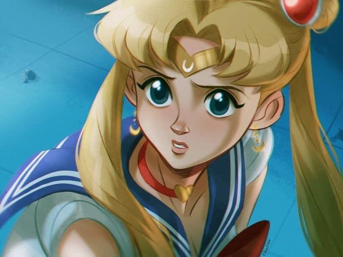 Artistas de todo o Twitter estão redesenhando Sailor Moon em seu próprio estilo (38 fotos) 27