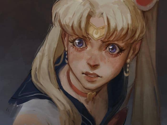 Artistas de todo o Twitter estão redesenhando Sailor Moon em seu próprio estilo (38 fotos) 39