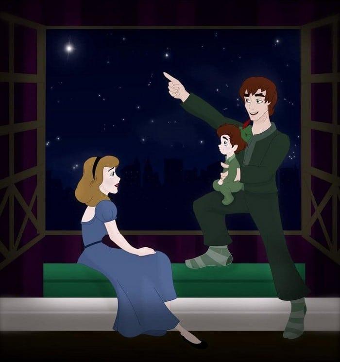 18 casais da Disney se eles tivessem filhos 8