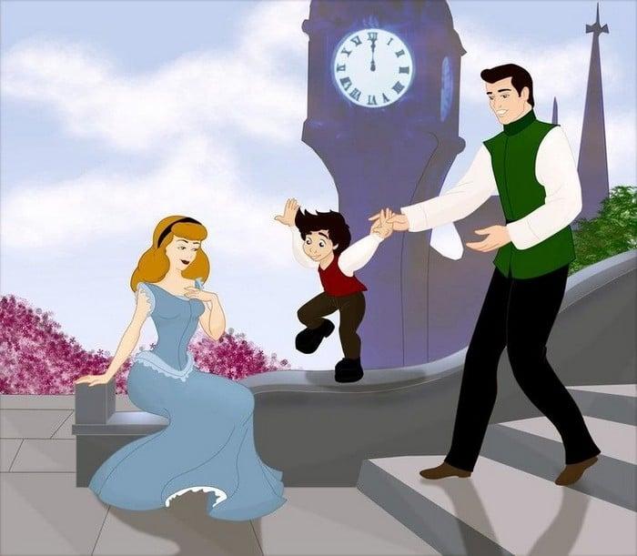 18 casais da Disney se eles tivessem filhos 11