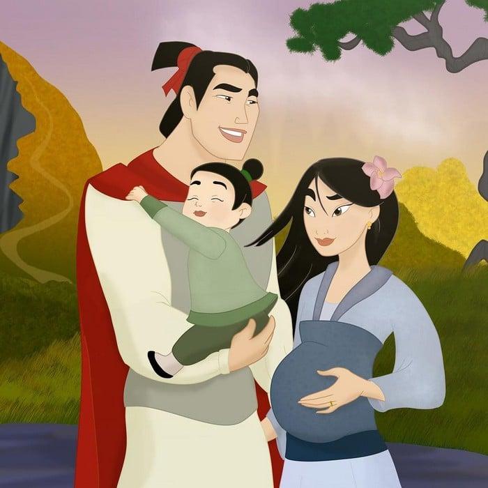 18 casais da Disney se eles tivessem filhos 14