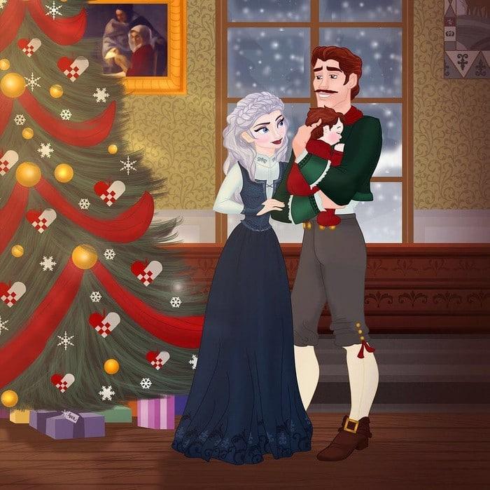 18 casais da Disney se eles tivessem filhos 15