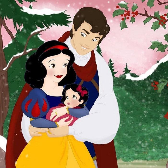 18 casais da Disney se eles tivessem filhos 16