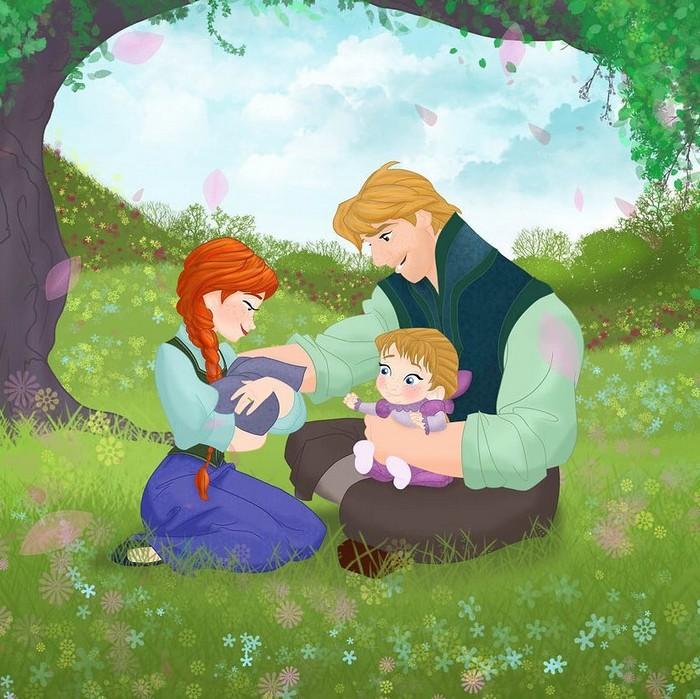 18 casais da Disney se eles tivessem filhos 19