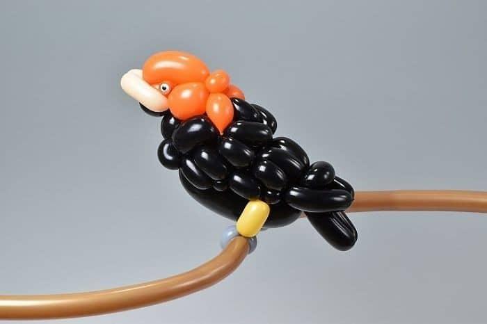 34 criaturas de balões coloridos do artista japonês Masayoshi Matsumoto 22