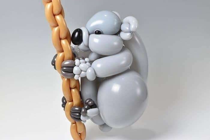 34 criaturas de balões coloridos do artista japonês Masayoshi Matsumoto 24