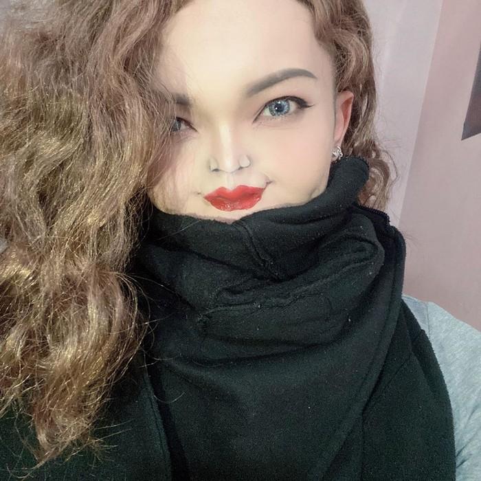 Esta pequena maquiagem para o rosto é a solução perfeita para uma máscara de coronavírus (37 fotos) 11