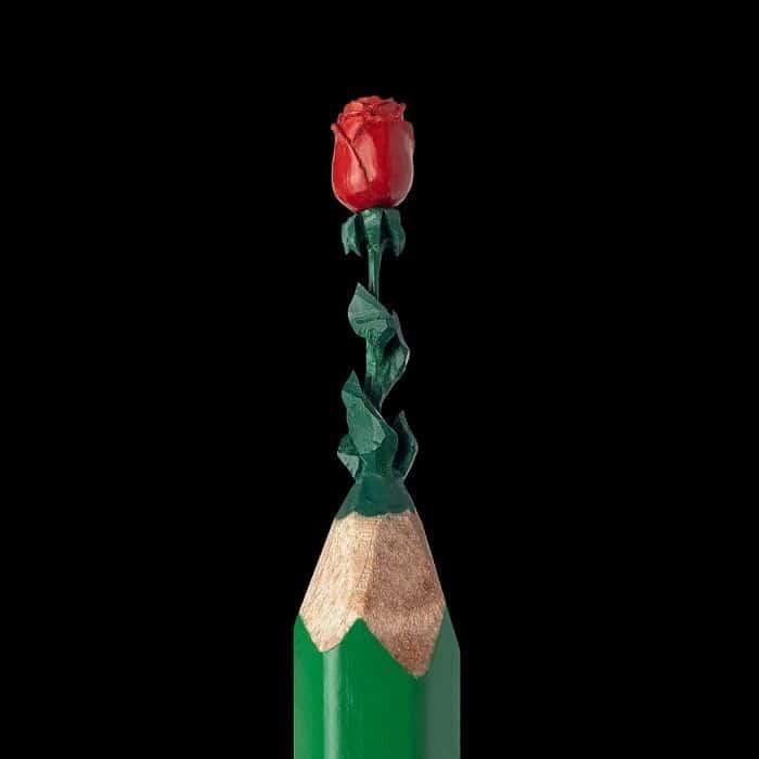 Este artista cria impressionantes esculturas minúsculas no lápis (34 fotos) 8
