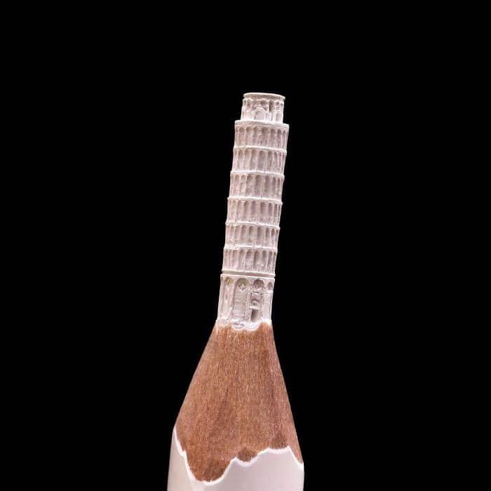 Este artista cria impressionantes esculturas minúsculas no lápis (34 fotos) 12