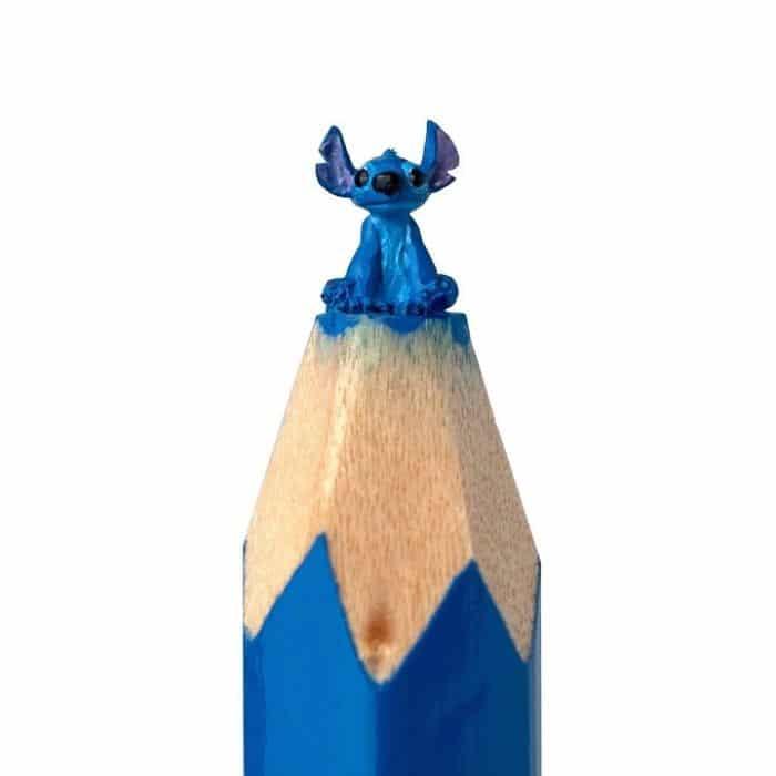 Este artista cria impressionantes esculturas minúsculas no lápis (34 fotos) 14