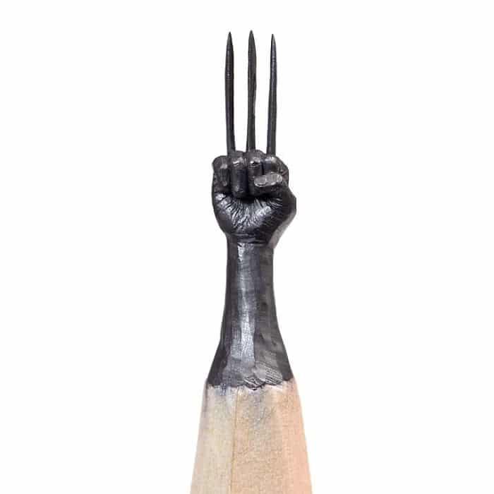 Este artista cria impressionantes esculturas minúsculas no lápis (34 fotos) 19