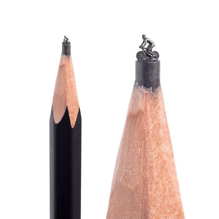 Este artista cria impressionantes esculturas minúsculas no lápis (34 fotos) 31