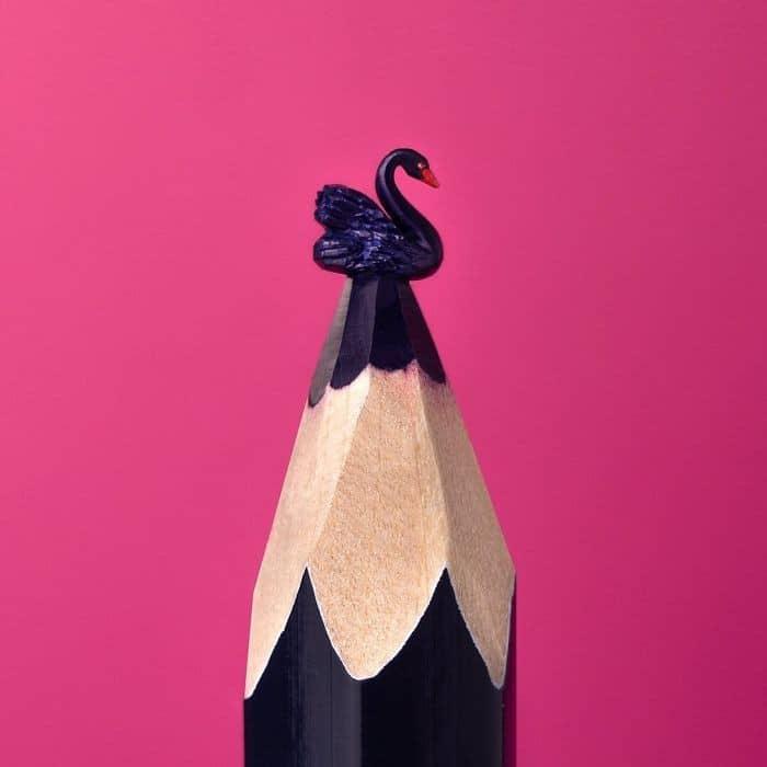 Este artista cria impressionantes esculturas minúsculas no lápis (34 fotos) 33