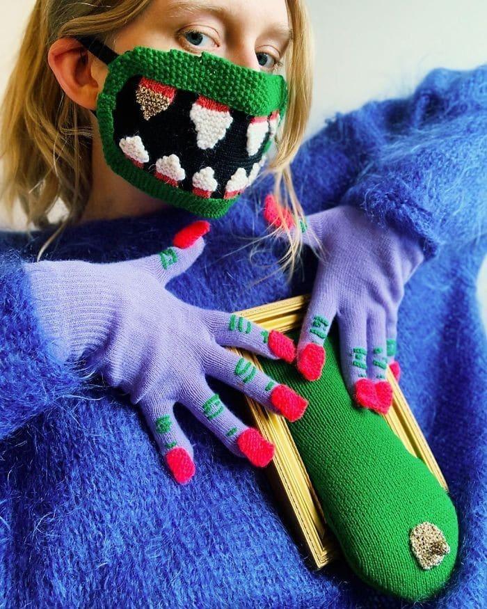12 máscaras não convencionais de Ýrúrarí estão ficando virais 9
