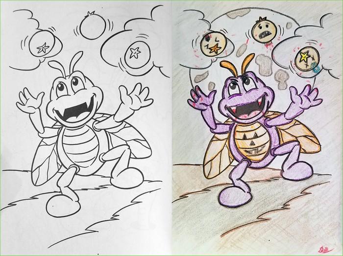 O que acontece quando adultos resolvem colorir livro de crianças (27 fotos) 26