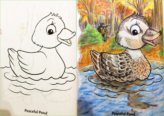 O que acontece quando adultos resolvem colorir livro de crianças (27 fotos) 28