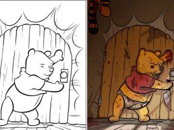 O que acontece quando adultos resolvem colorir livro de crianças (27 fotos) 36