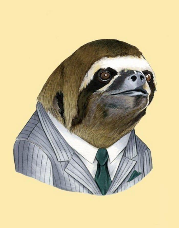 20 retratos de animais muito bem vestidos por Ryan Berkley 10